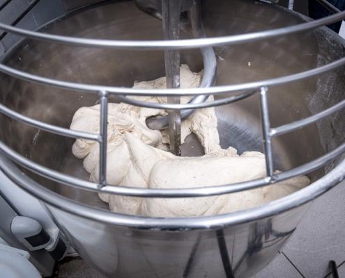Mixing Gluten-Free Dough